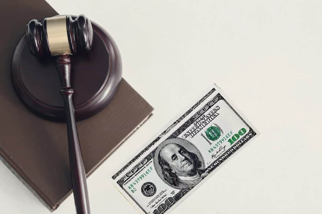 court fees for filing a divorce
