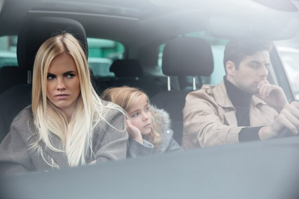 couple parenting through divorce