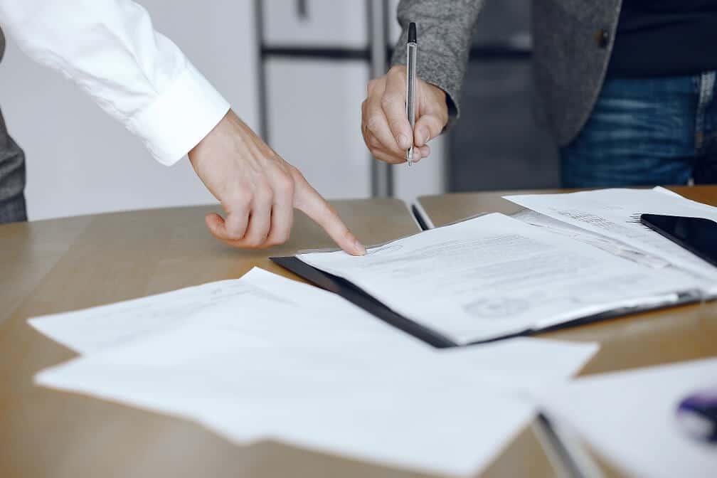 filling out atlanta divorce papers